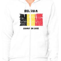 a19c2da4c Belgium fifa world cup 2018 Unisex Zip-Up Hoodie