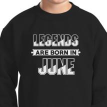 85682584 Queens Are Born In June Gold Kids Sweatshirt   Hoodiego.com