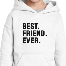 62819c1b Best Friend Ever Father's Day Gift Funny Kids Hoodie | Hoodiego.com